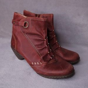 PIKOLINOS - LEATHER ANKLE BOOTS
